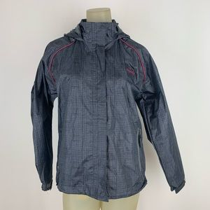 Prairie mountain woman's jacket lined gray medium